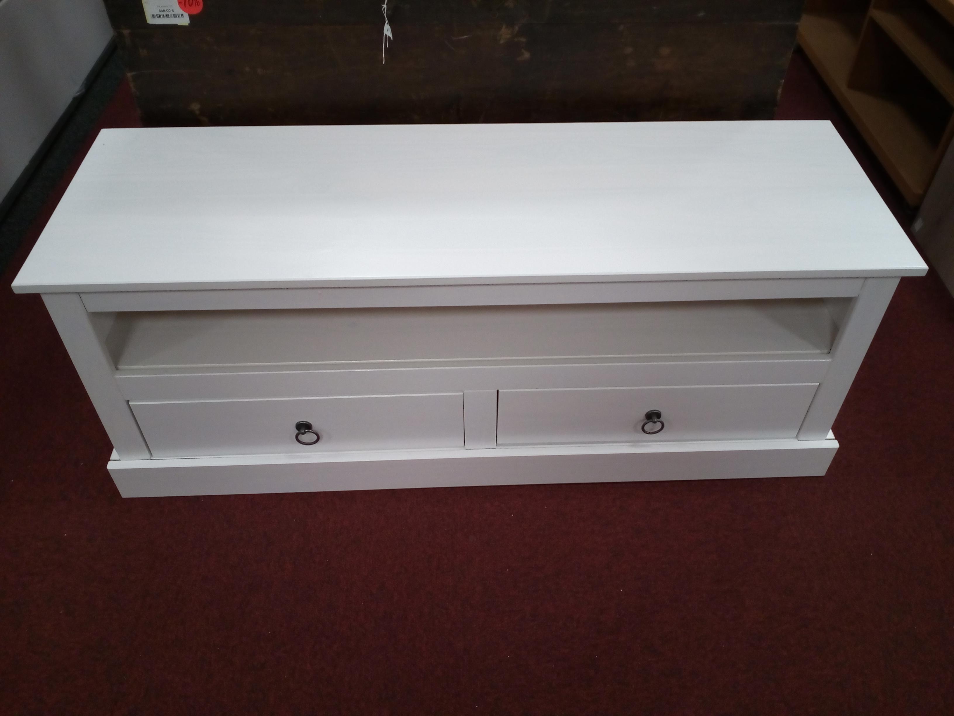 meuble tv blanc provence occasion la cabane du troc. Black Bedroom Furniture Sets. Home Design Ideas