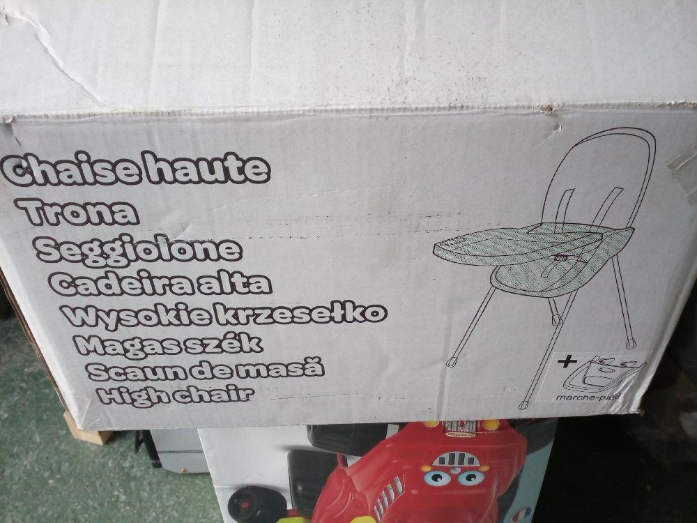 chaise haute bebe occasion la cabane du troc. Black Bedroom Furniture Sets. Home Design Ideas