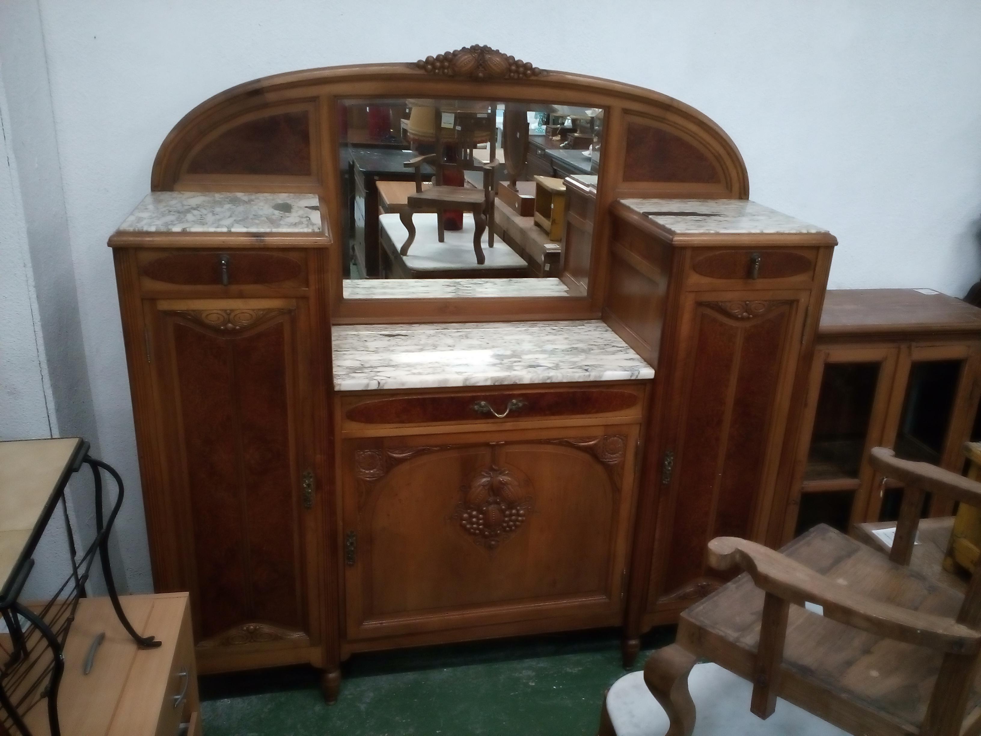 meuble d 39 entr e style 1930 occasion la cabane du troc. Black Bedroom Furniture Sets. Home Design Ideas