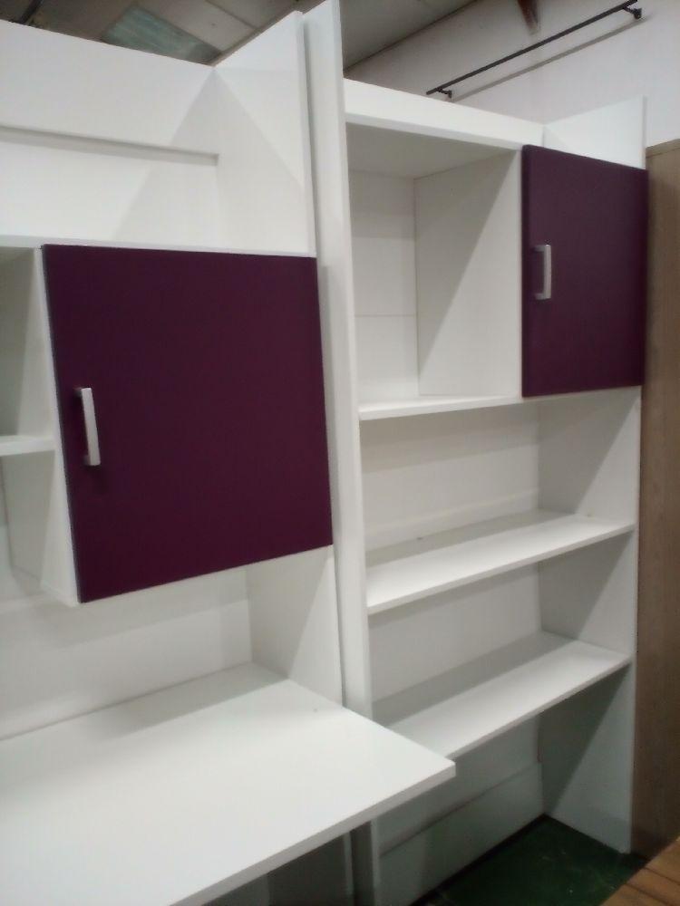 meuble bureau tag re occasion la cabane du troc. Black Bedroom Furniture Sets. Home Design Ideas