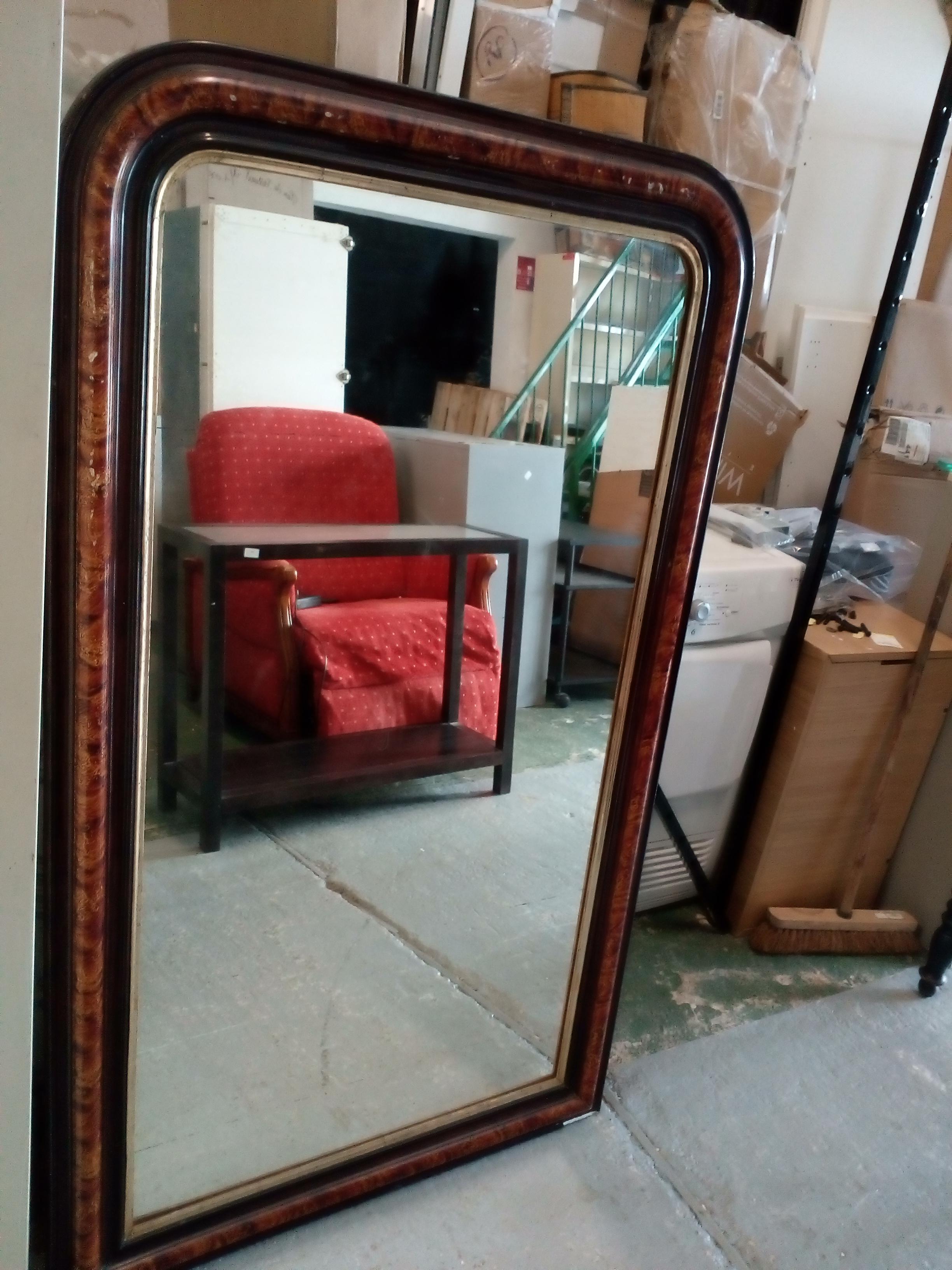 Miroir ancien loupe occasion la cabane du troc for Miroir loupe