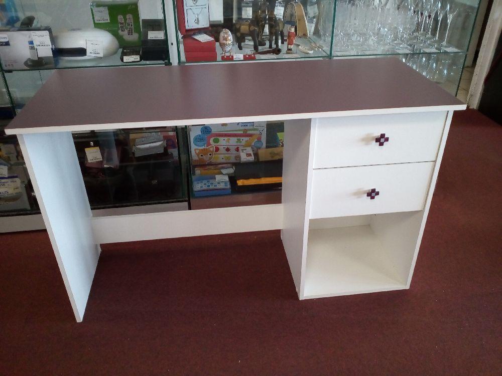 Bureau moderne tiroirs occasion la cabane du troc
