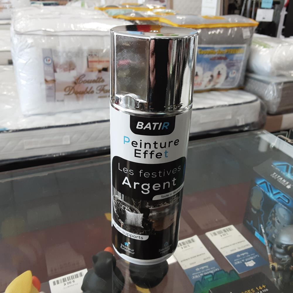AEROSOL CHROME OR ARGENT