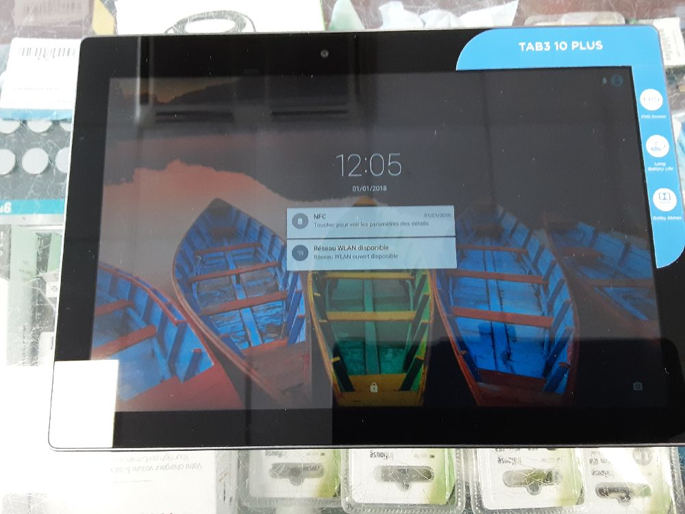 TABLETTE LENOVO TAB3 10 PLUS