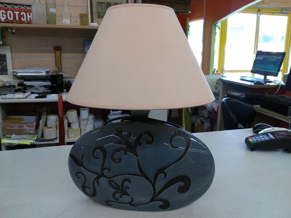 lampe de chevet grise occasion le troc. Black Bedroom Furniture Sets. Home Design Ideas