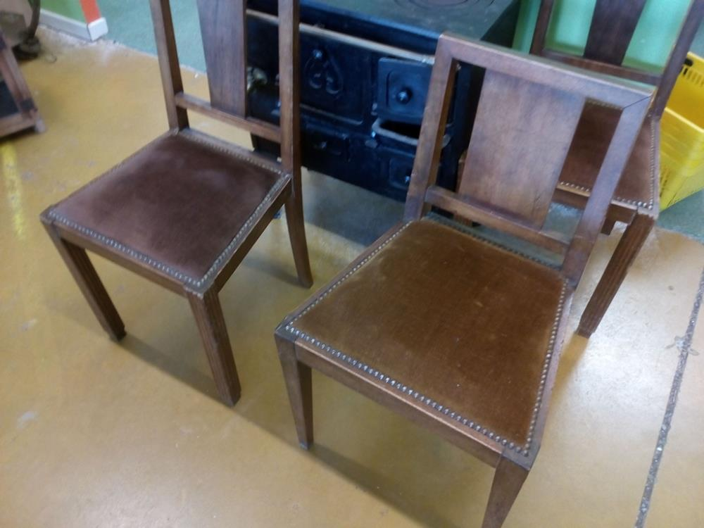 Chaise Art Deco Les 2 Occasion Le Troc