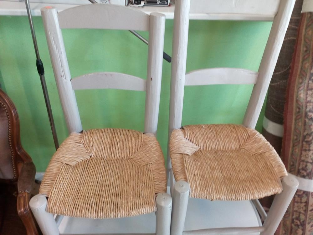 chaise paill e enfant occasion le troc. Black Bedroom Furniture Sets. Home Design Ideas