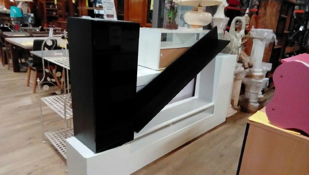 meuble tele noir et occasion troc richwiller. Black Bedroom Furniture Sets. Home Design Ideas