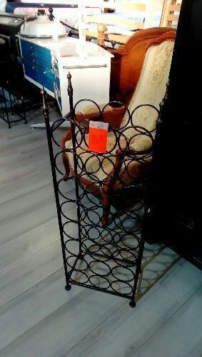 porte bouteil metal mm haut 108cm occasion troc richwiller. Black Bedroom Furniture Sets. Home Design Ideas