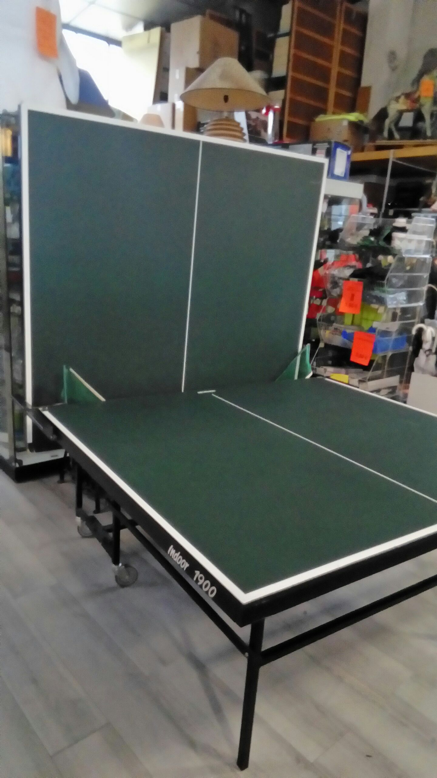 Table de ping pong int rieur decathlon occasion troc - Table de ping pong exterieur decathlon ...