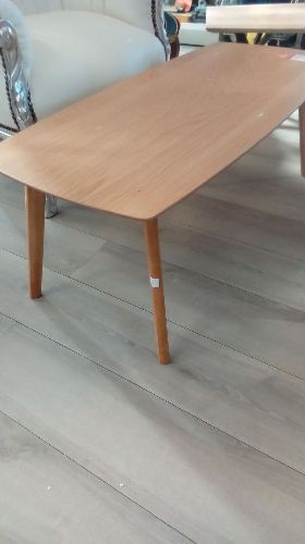 Table Basse Chene Blanc Neuf Troc Richwiller