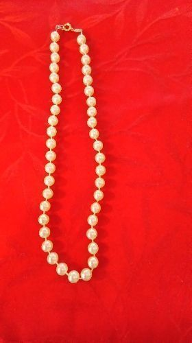COLLIER PERLES FANTAISIES