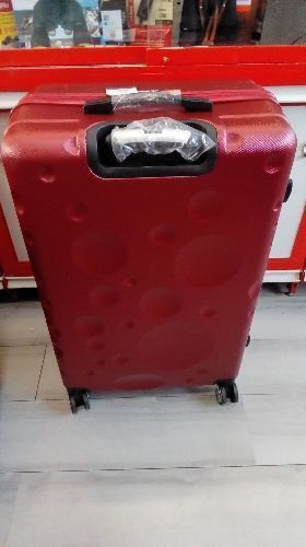 VALISE ROUGE JL SHERRER/ ABS 4 X 2 ROUES GM