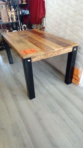Table Industriel Boismetal 160x90 Neuf Troc Richwiller