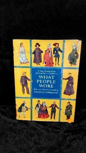 LIVRE WHAT PEOPLE WORE