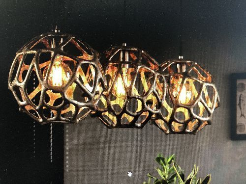 LUSTRE 3 SUSPENSIONS DESIGN 7162/31A