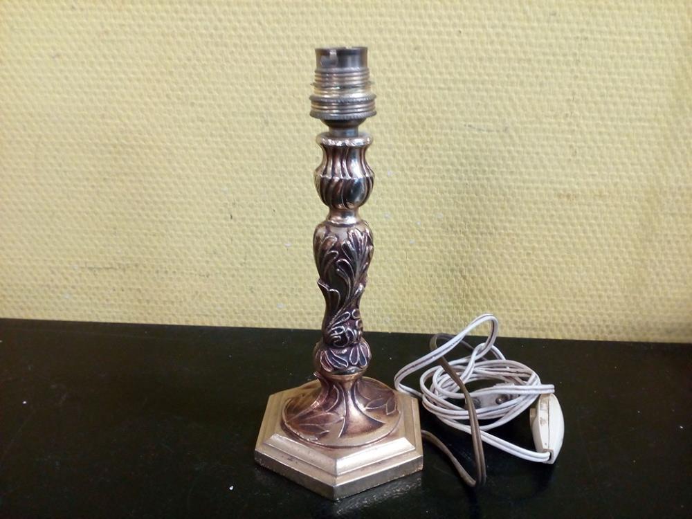 Pied De Lampe En Bronze Occasion Troc 24