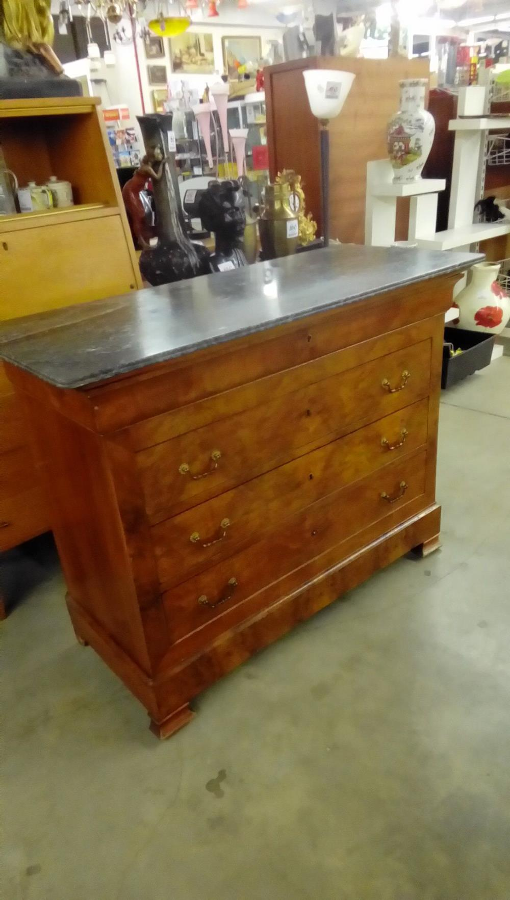 Commode Style Louis Philippe 4 Tiroirs Occasion Troc Nancy