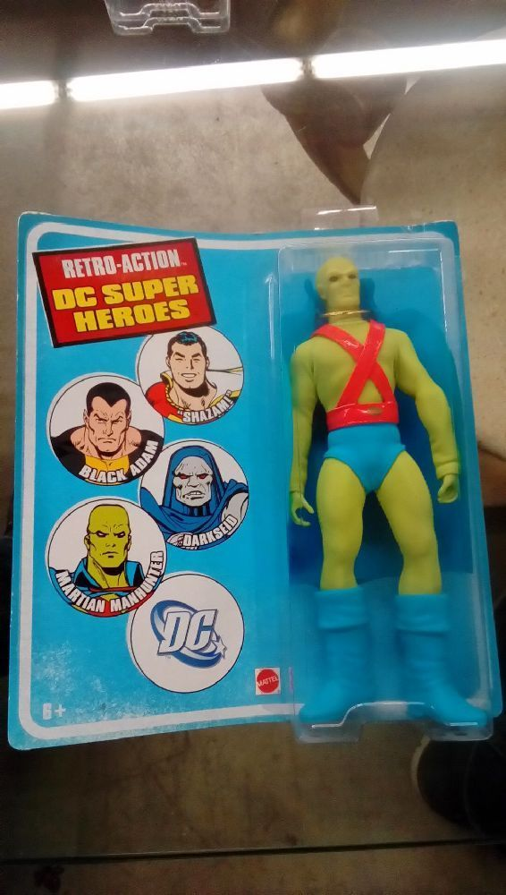 POUPÉE RETRO ACTION MARTIAN MANHUNTER