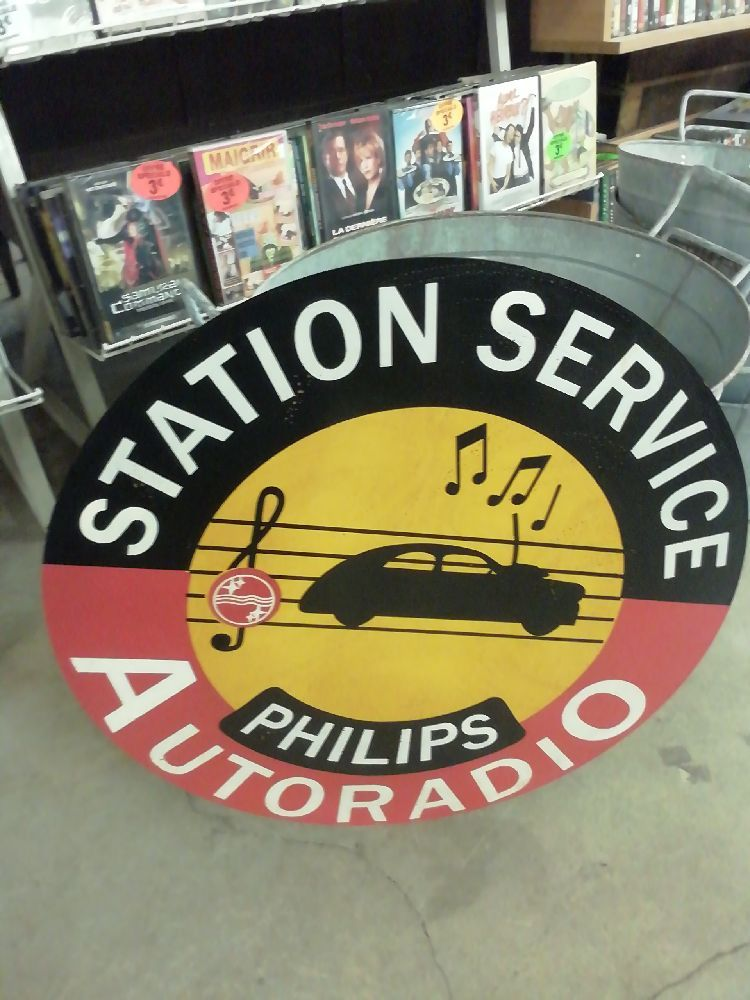 PLAQUE PHILIPS AUTORADIO