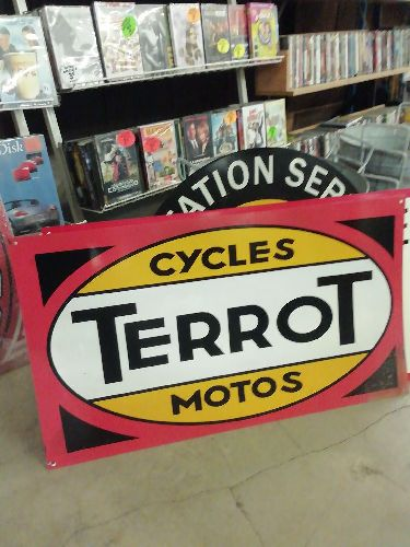 PLAQUE CYCLES TERROT