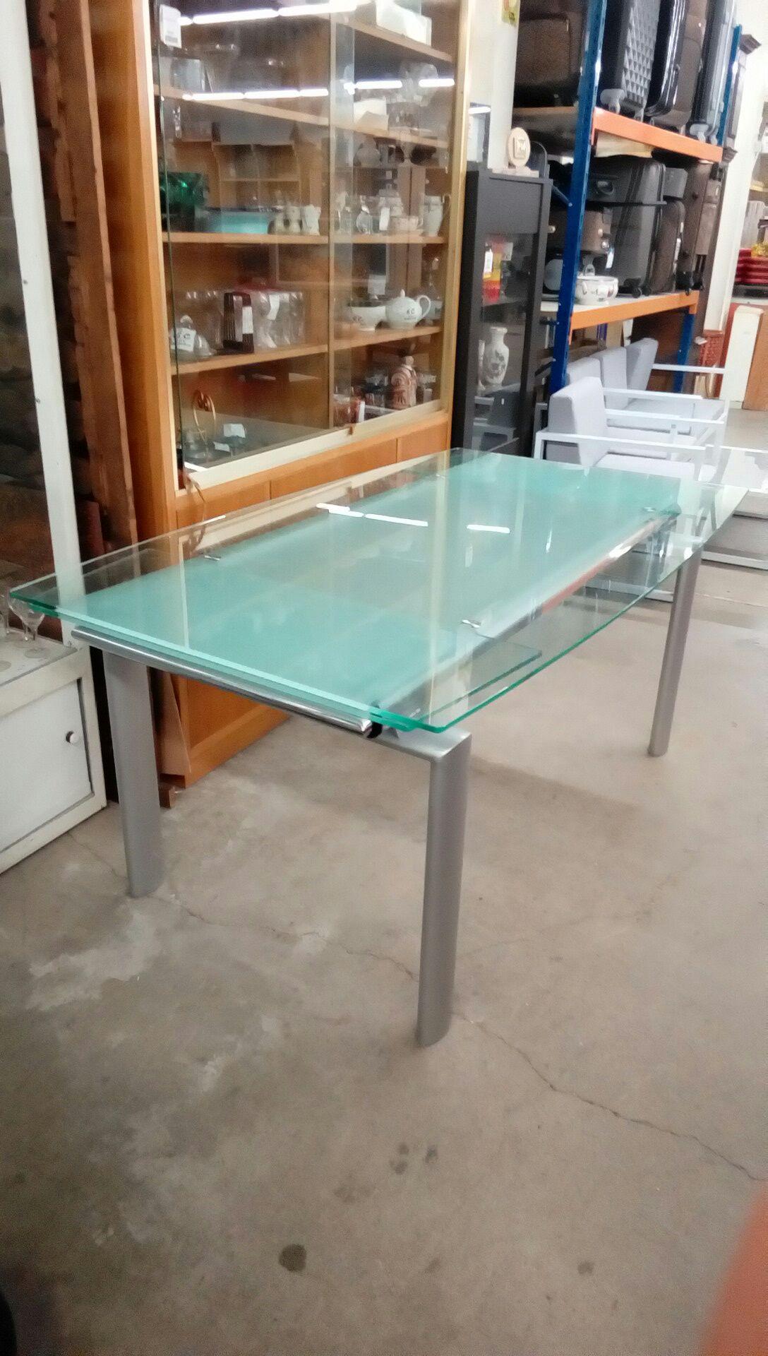 table moderne verres occasion troc nancy. Black Bedroom Furniture Sets. Home Design Ideas