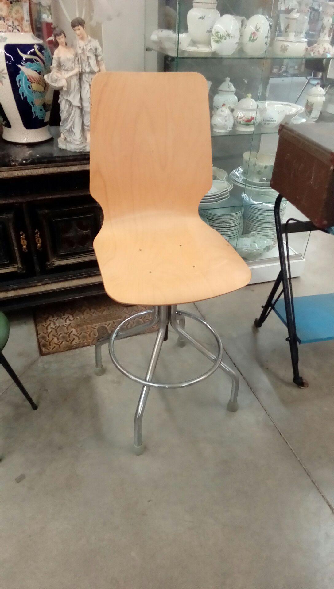 chaise bois metal occasion - troc nancy