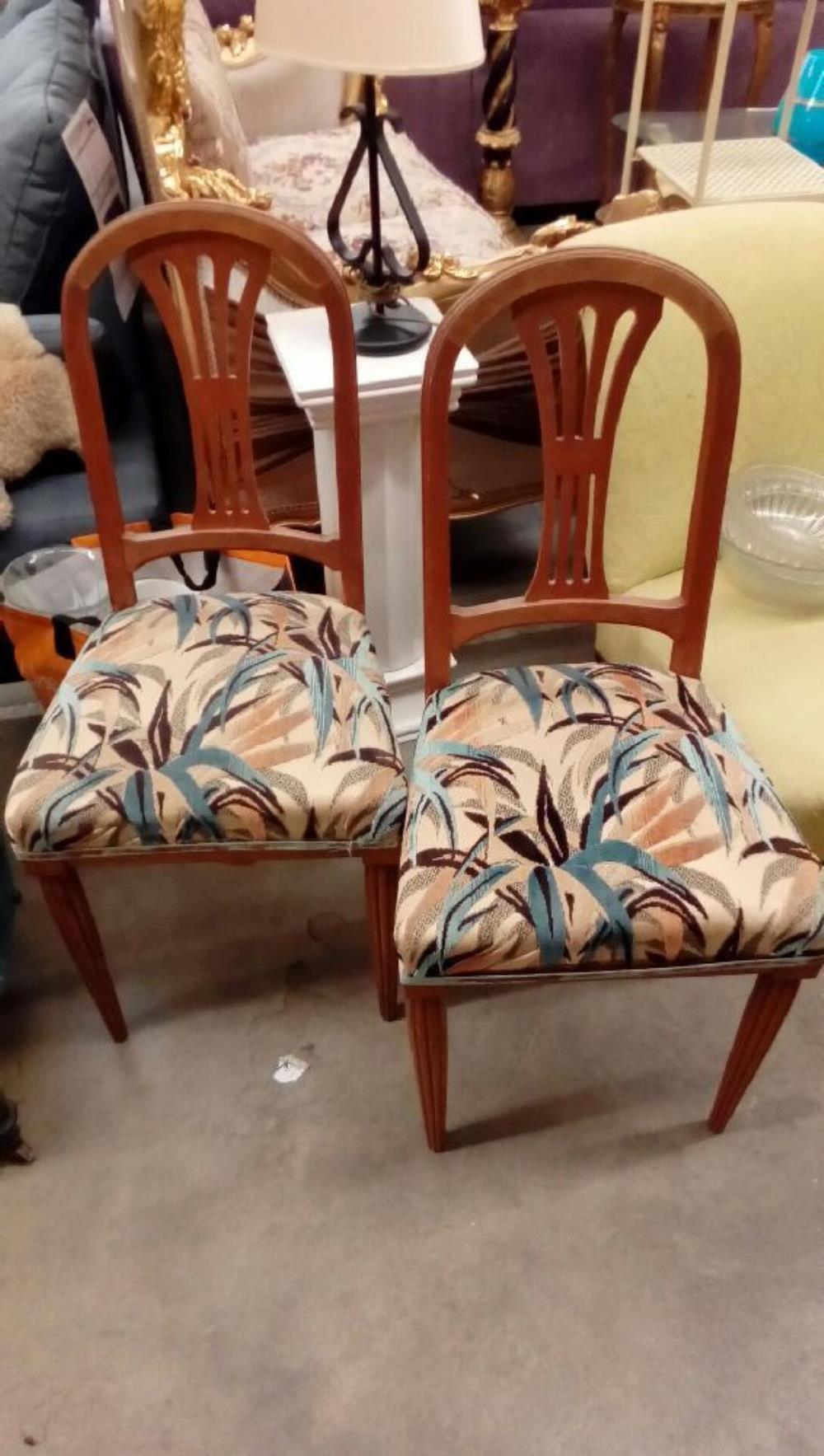 Paire De Chaises Art Deco Occasion Troc Nancy