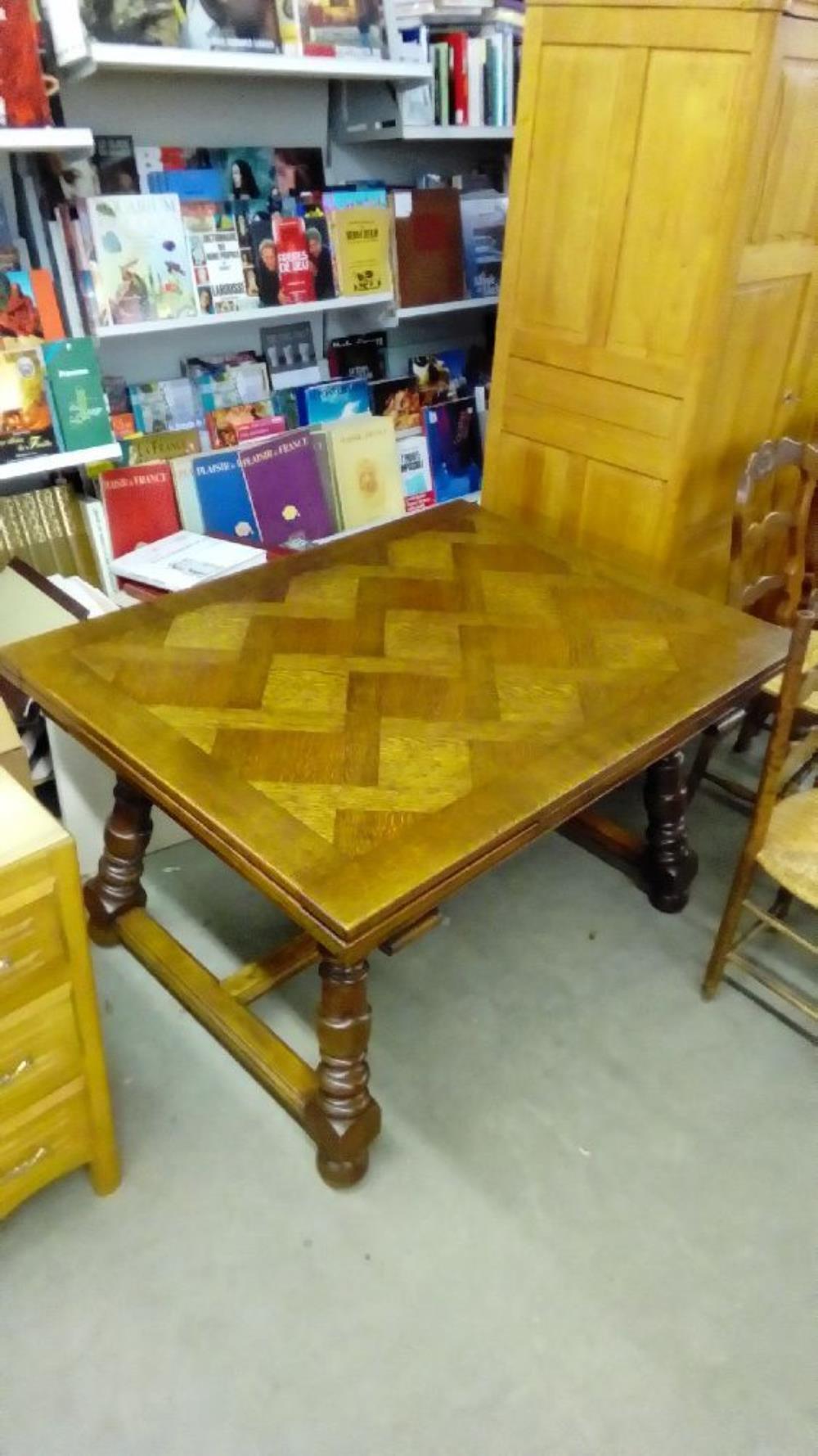 Table rustique occasion troc nancy - Table rustique ...