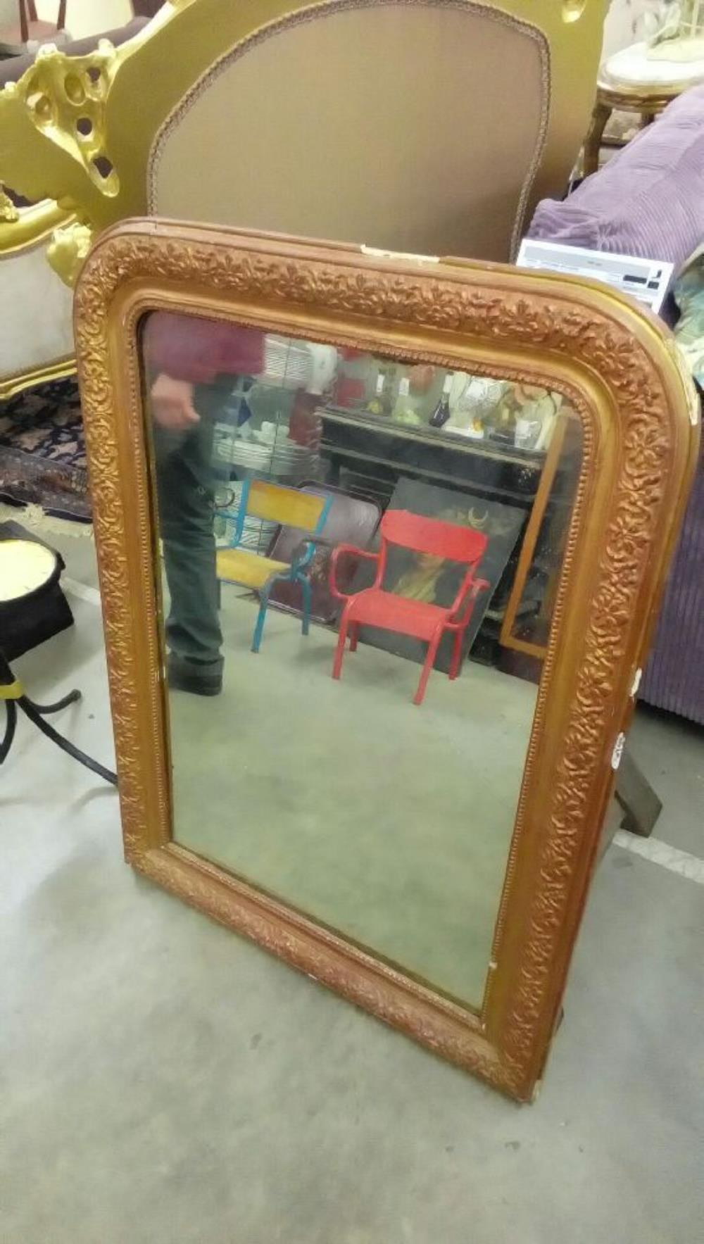 miroir ancien dore occasion troc nancy. Black Bedroom Furniture Sets. Home Design Ideas