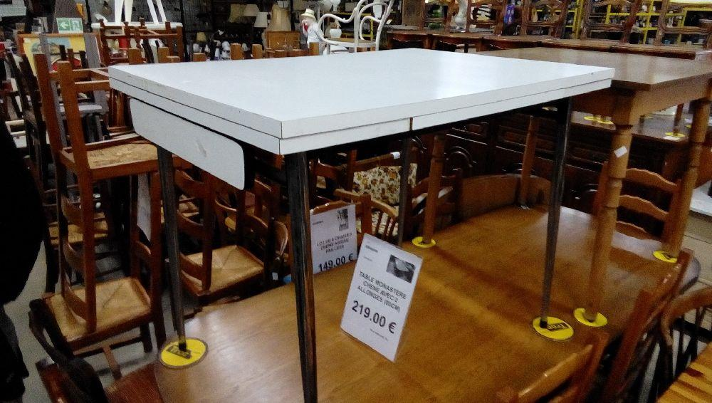 Table Formica Blanche Occasion Troc Forbach