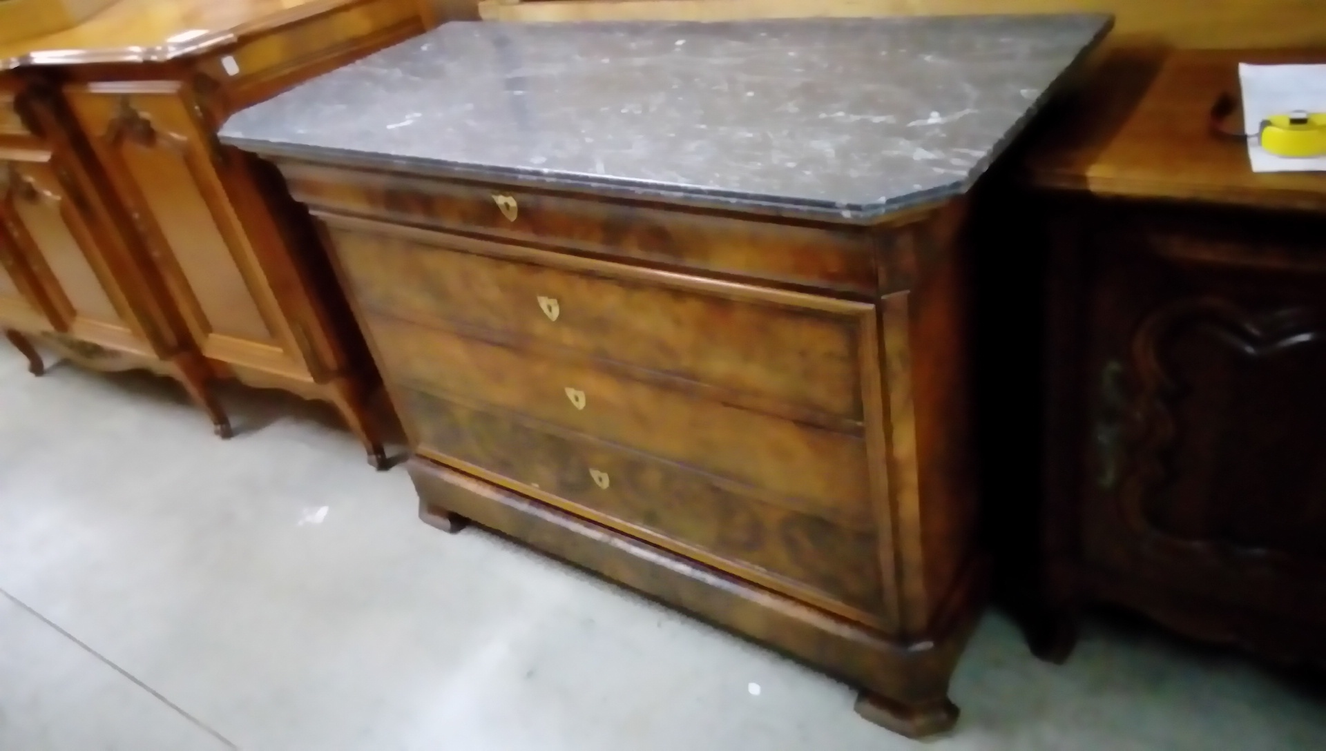Commode Louis Philippe Marbre 5tiroirs Occasion Troc Forbach