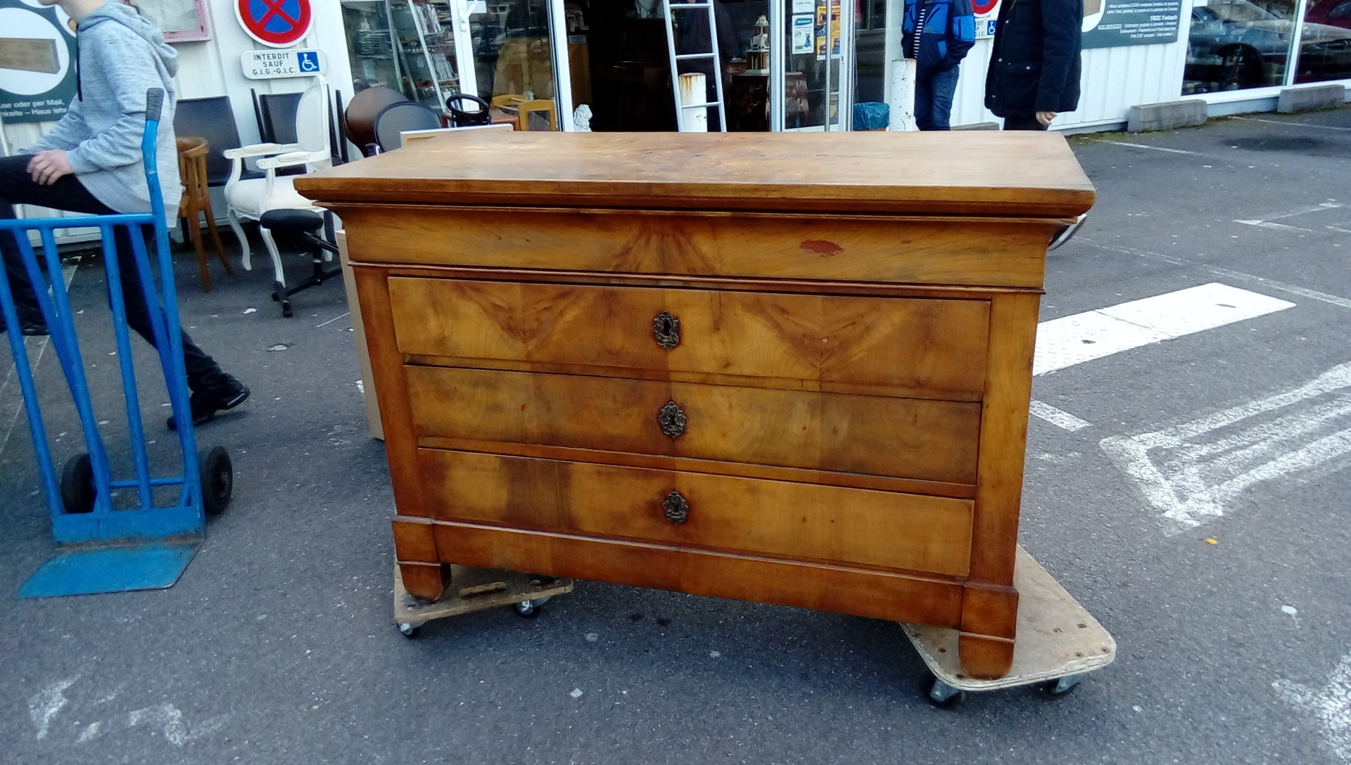 Commode Ancienne Louis Philippe Occasion Troc Forbach