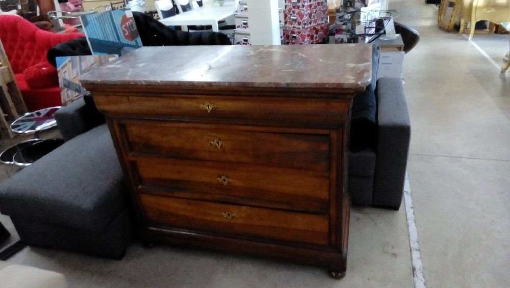 Commode Louis Philippe Marbre Occasion Troc Forbach