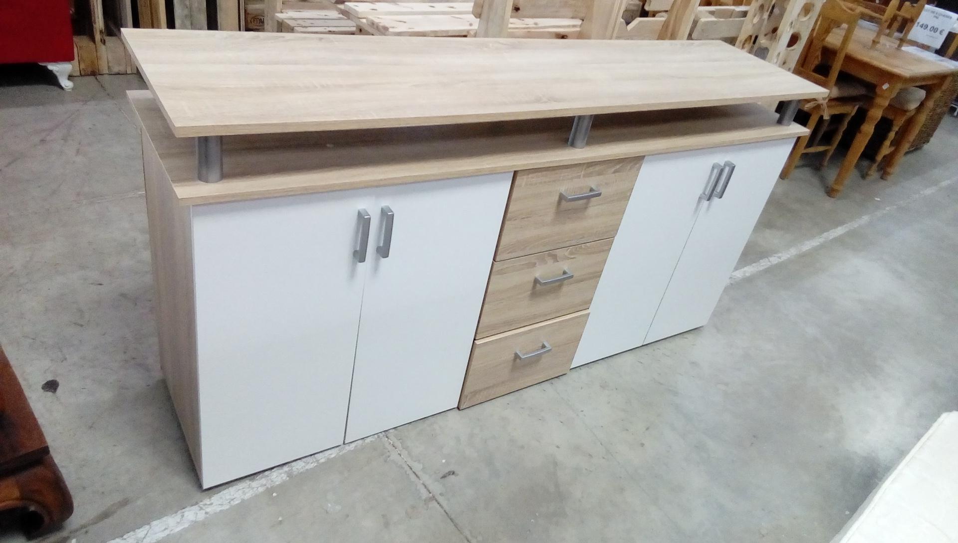 Bahut bas moderne - Caisson pour meuble de cuisine en kit ...