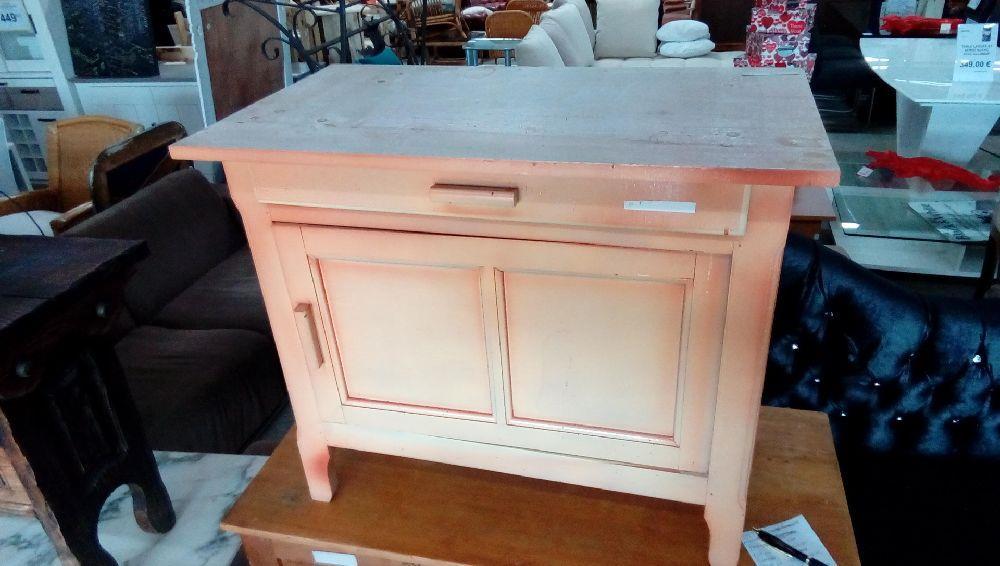 petit meuble orange 1porte 1tiroir occasion troc forbach. Black Bedroom Furniture Sets. Home Design Ideas