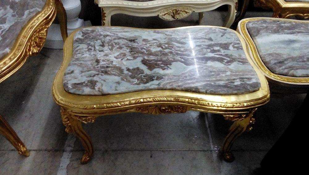 Table Baroque Doree Avec Marbre Occasion Troc Forbach