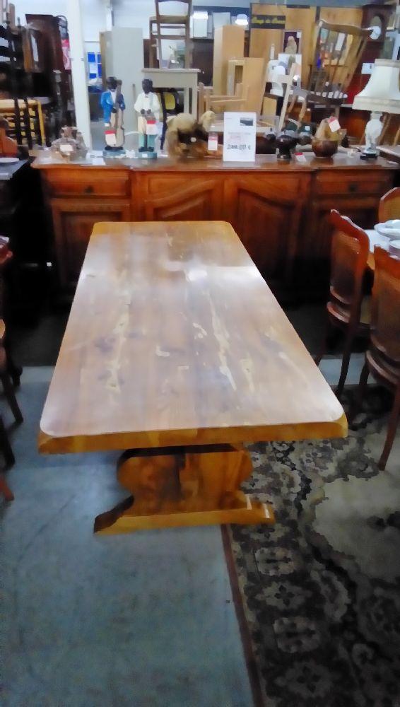 table de ferme dans l 39 etat occasion troc forbach. Black Bedroom Furniture Sets. Home Design Ideas