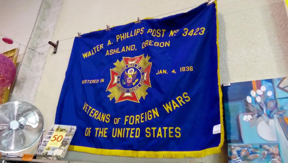 DRAPEAU AMERICAIN VETERANS OF FOREIGNER WARS 1936