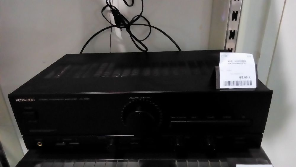 AMPLI KENWOOD KA-1030+NOTICE