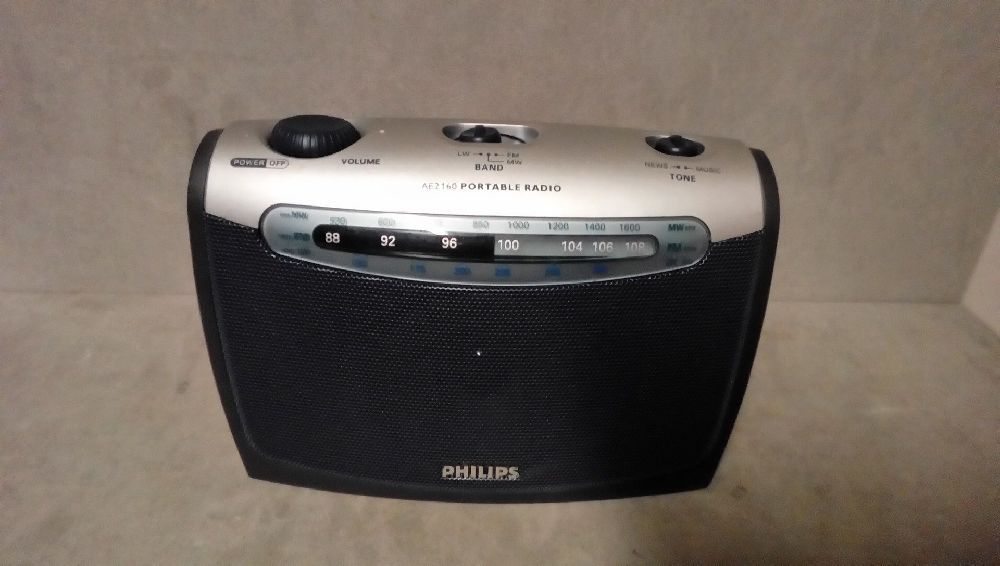 POSTE PORTABLE PHILIPS A PILES