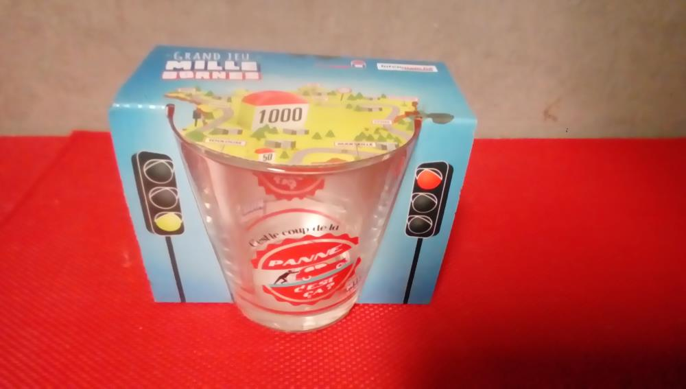 VERRE COLLECTION INTERMARCHE MILLE BORNES