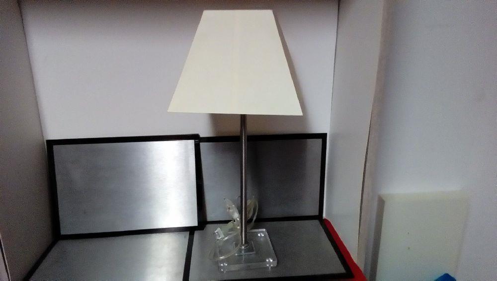 lampe chevet pied metal design occasion la boutique du. Black Bedroom Furniture Sets. Home Design Ideas