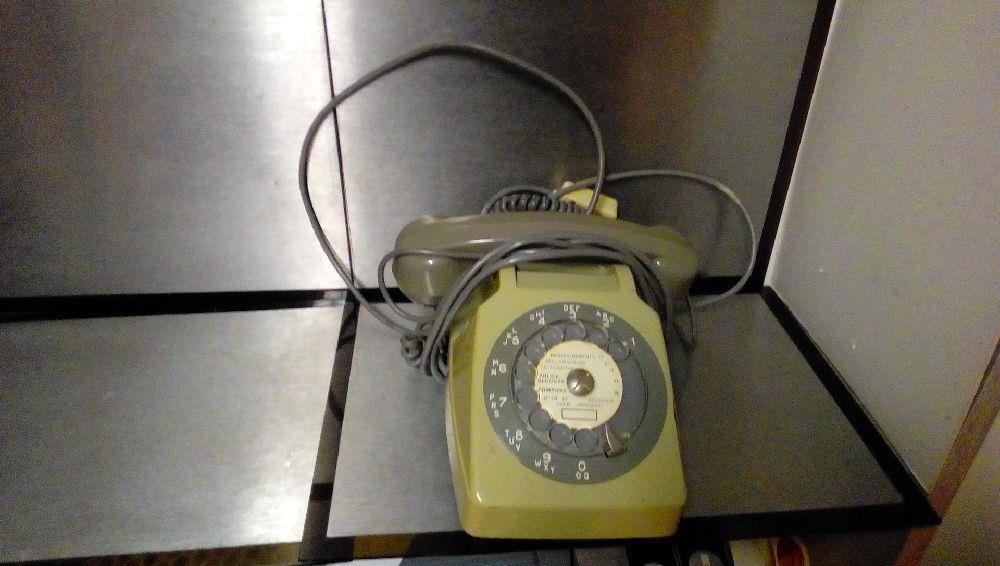 telephone ptt gris occasion la boutique du chineur. Black Bedroom Furniture Sets. Home Design Ideas