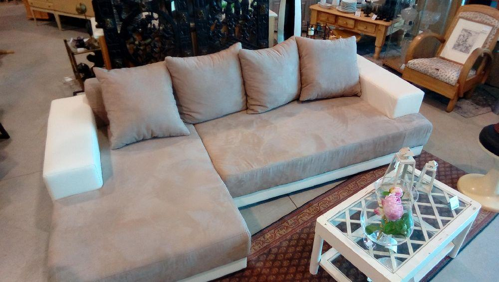 canape tissus et look convertible d 39 angle occasion la boutique du chineur. Black Bedroom Furniture Sets. Home Design Ideas