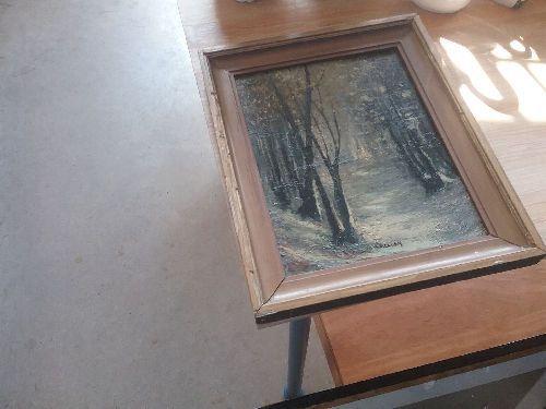 Peinture Sur Bois Daisy Occasion Troc Carcassonne