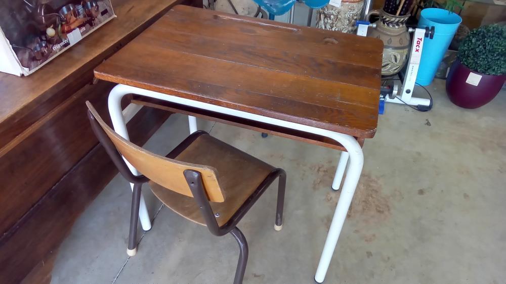 Chaise ecolier occasion top ancien petite chaise ecole enfant