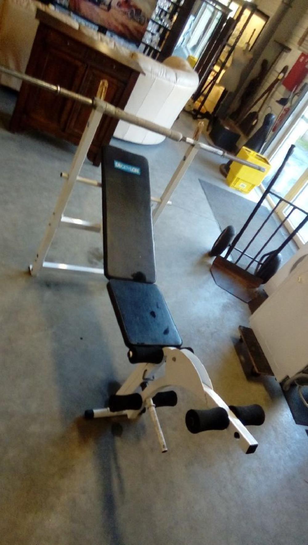 Banc De Musculation Decathlon Occasion Troc Fecamp