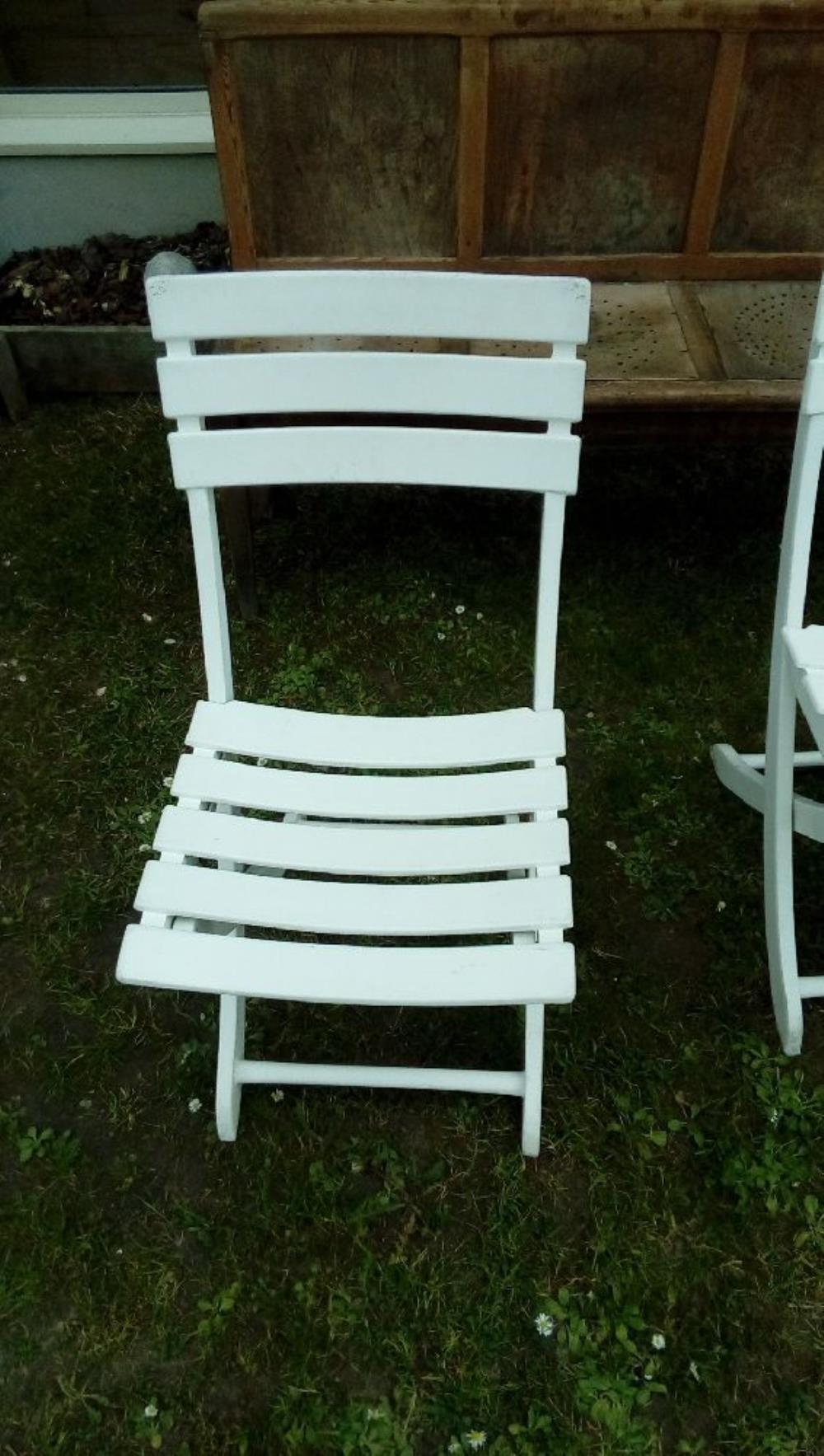 Chaise Résine Occasion Triconfort De Blanc Jardin Troc Ybf7gy6