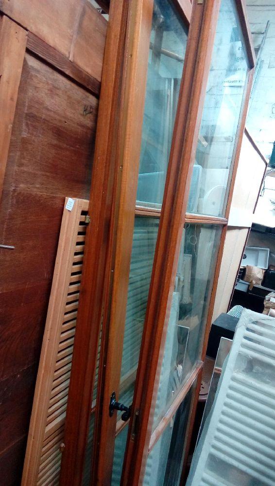 porte fenetre bois exo double vitrage 3 ventaux 246x130 occasion troc de france. Black Bedroom Furniture Sets. Home Design Ideas